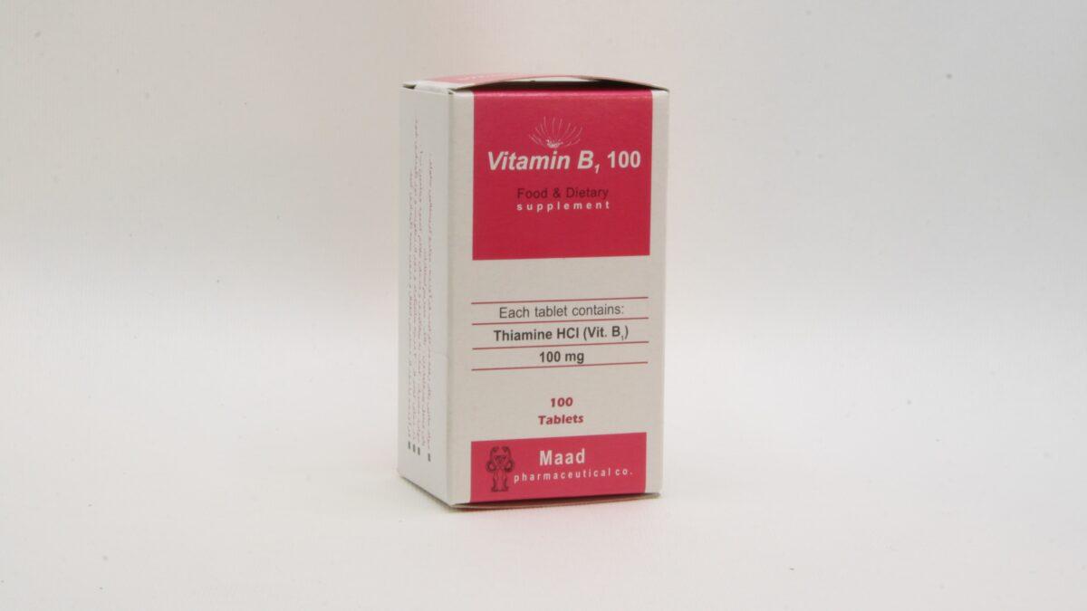 Vitamin B1 100 Back